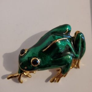 Jewelry - 🐸📍 Frog Brooch